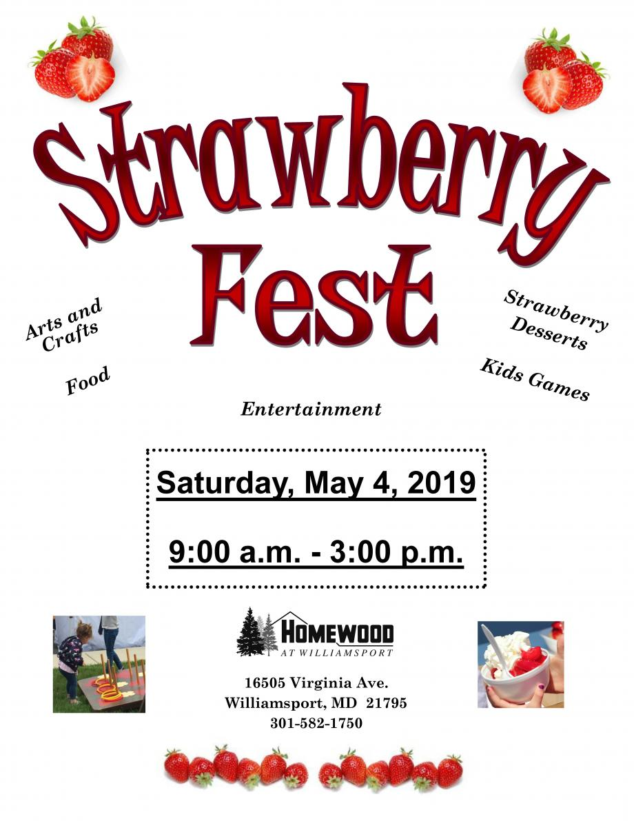 Strawberry Fest Info